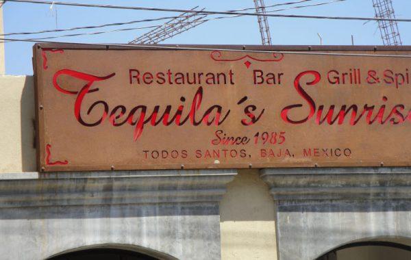 Tequila's Sunrise